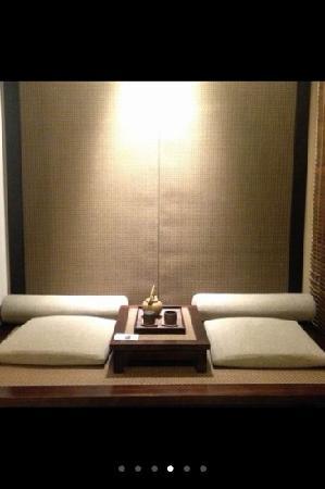 Narada Resort & Spa Liangzhu: 房间这个角度有当榻榻米的赶脚