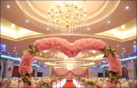 Inner Mongolia Tian He International Hotel: 酒店宴会厅