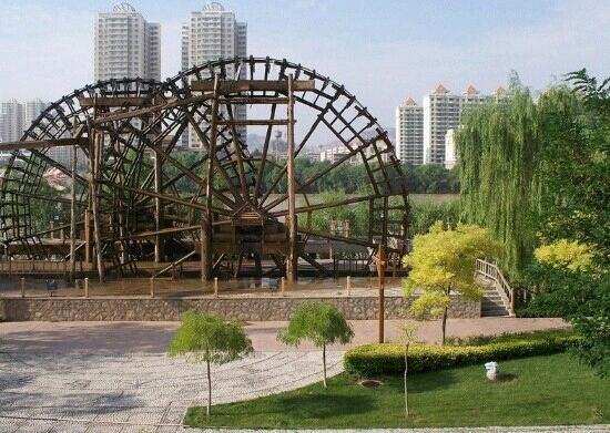 Binhe Park of Lanzhou : 兰州滨河公园
