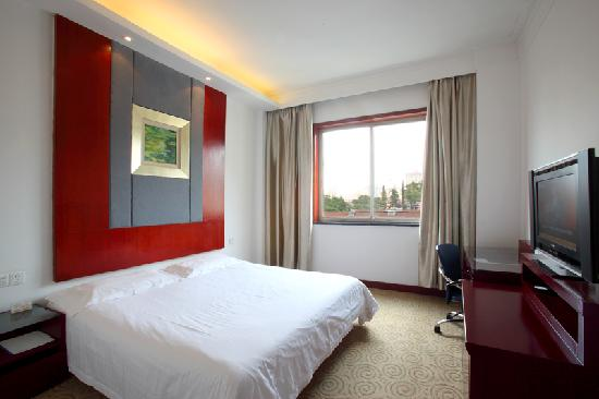Xiangbaohu Hotel : 时尚大床