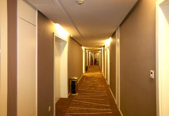 Xiangbaohu Hotel : 酒店走廊