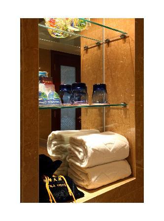 Yili Hotel: 卫生间标配