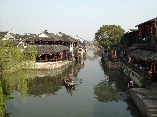 Xitang Ancient Town: 船夫