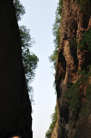Wanxi Great Valley: 一线天