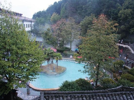 Tang Feng Hot Spring Resort: 唐风露天温泉度假村