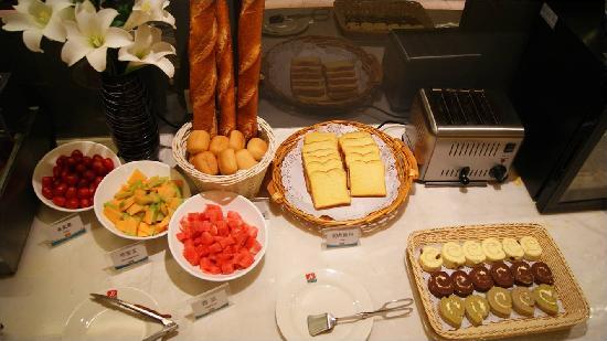 Jinjiang Inn Zhuji Chengxi Business Area : 早餐