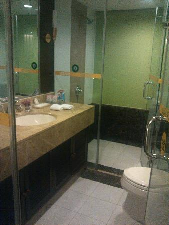 Golden View Hotel: bathroom