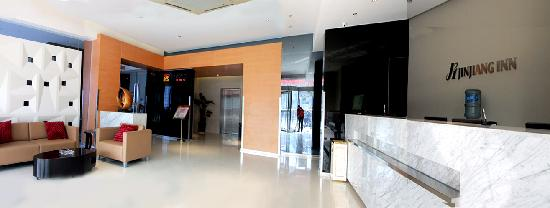 Jinjiang Inn Wuxi Center Station: 酒店的大厅