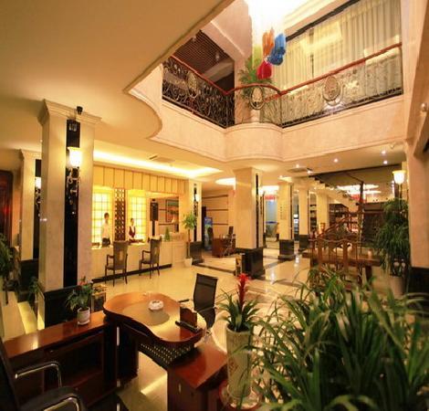 Weimei Siji Hotel: 大堂全景