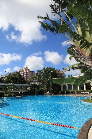 Tower Hotel : 泳池一角