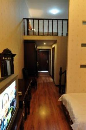 Shuangyuanhui Hotel: 复式阁楼