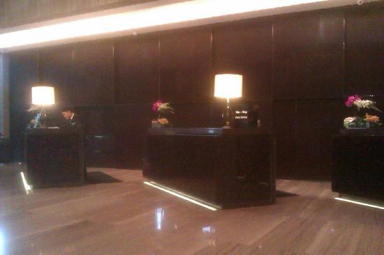 Hilton Guangzhou Tianhe: reception