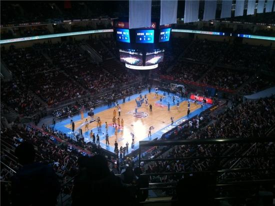 Beijing Olympic Basketball Gymnasium: 万事达