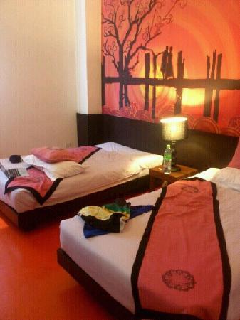 The Small Chiang Mai: 六十人民币一晚的房间哦