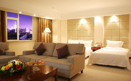 Inner Mongolia Tian He International Hotel: 家庭房