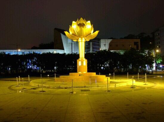 Lotus Square: 金光灿灿