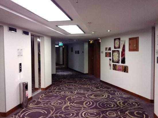 Hilton Gdansk: 走廊