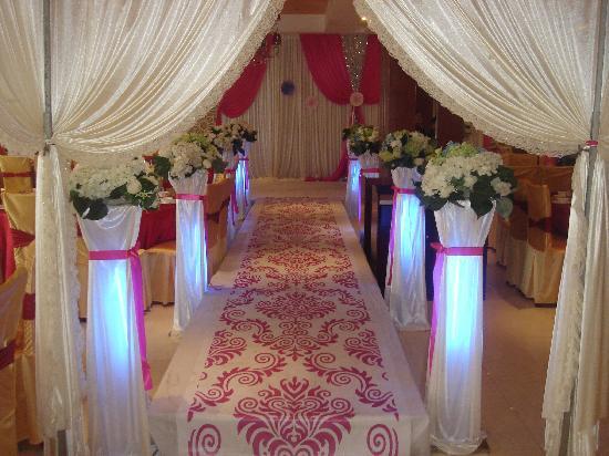 Soaring International Hotel: 婚宴舞台