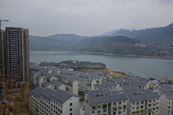 Guobin Hotel: 酒店远眺长江1