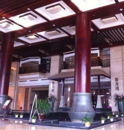 Zilongwan Hot Spring International Hotel: 门口