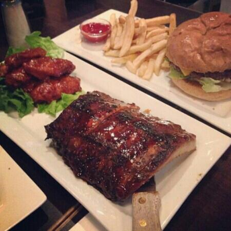 Ruby Tuesday: 全是肉。。