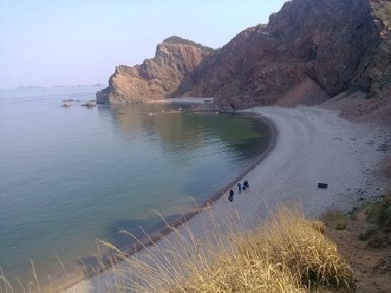 Zhifu Island: beach