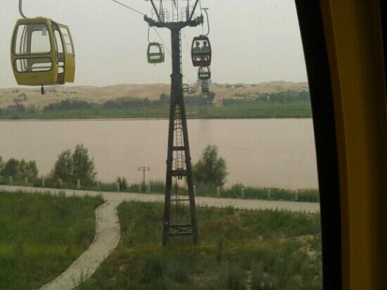 内蒙古自治区托克托县: 黄河索道