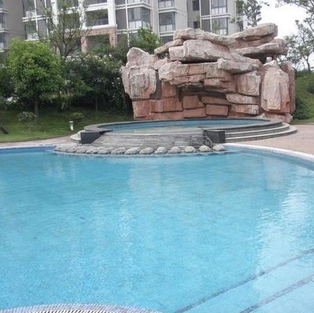 Dak Bay Garden Hotel : 泳池