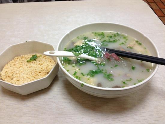 Ya De Bao Ya XueFen Si (ZhuJiang Road) : 鸭血粉丝汤