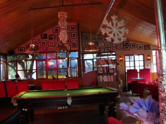 Upland International Youth Hostel : 可以打桌球