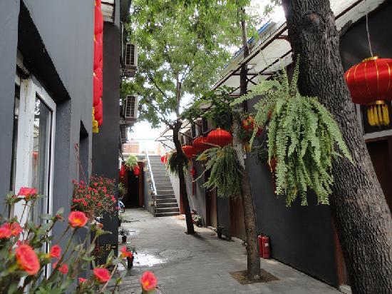 Yo Yo Hotel Nanluogu Alley: 院子