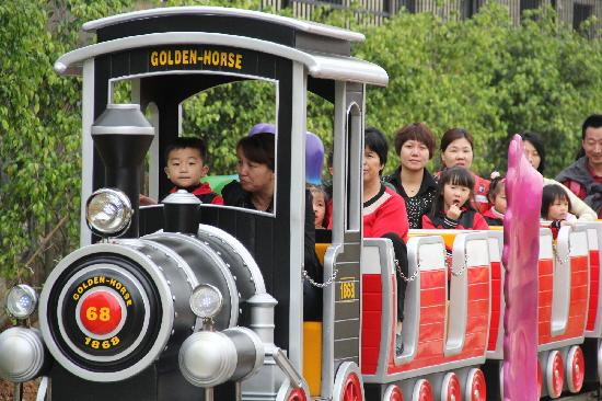 Longyan, Kina: 很好的一个亲子游乐火车,大人小孩都可以玩!