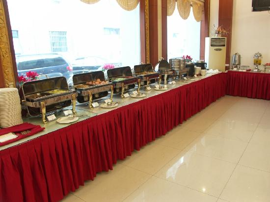 Jinjiang Inn Zhenzhou Hanghai Middle Road: 酒店餐厅