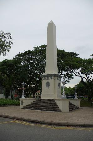 Raffles Landing Site : 来福士登陆纪念碑