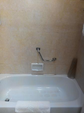 Mengdu Yushanhu Hotel : 卫生间较小