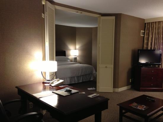 Sheraton Suites Wilmington Downtown Hotel : 套房