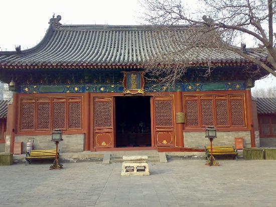 Zhihua Temple : 正殿 智化殿