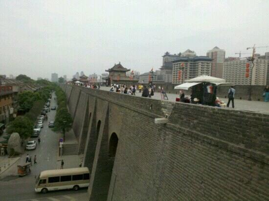 Hanguanmen Site Museum of Xi'an Tang City Wall: 完整的城墙