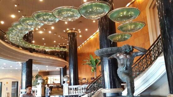New Gloria Hotel: 大堂一景