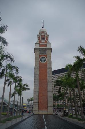 Former Kowloon-Canton Railway Clock Tower : 前九广铁路钟楼