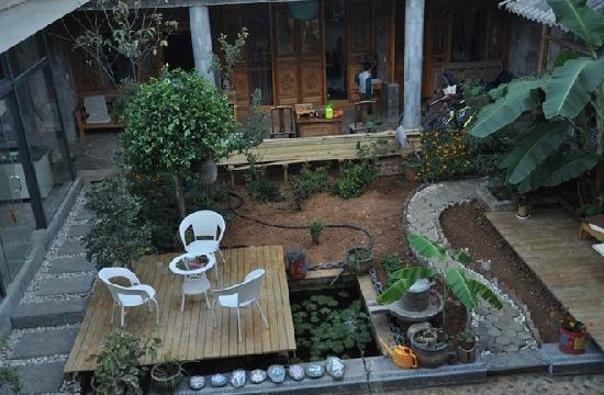 Shuanglang Lanying Inn: 院子