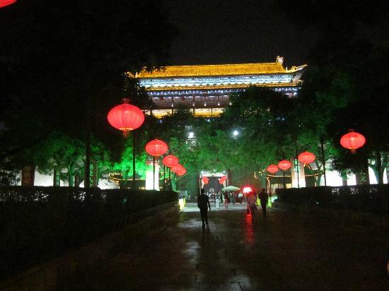 Hanguanmen Site Museum of Xi'an Tang City Wall: 夜景