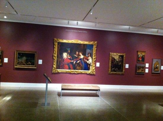University of Michigan Museum of Art : 美术馆内部