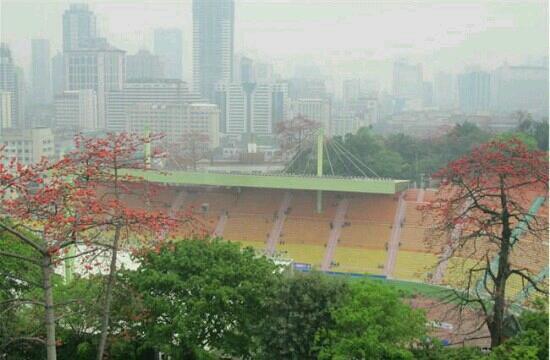 Yuexiu Mountain Stadium : 体育场