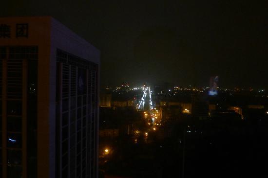 Crowne Plaza Hotel : 南向夜景