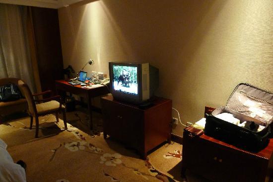 JJ Pearl Hotel: 电视机较旧