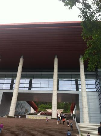 Jinggangshan Revolution Museum : 免费的革命史博物馆