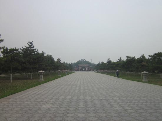 Maoling Mausoleum : 茂陵博物馆整体外观
