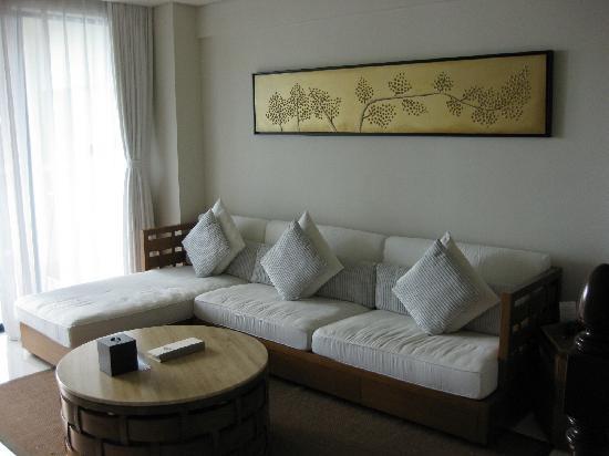 Ocean Sonic Resort: 房间客厅