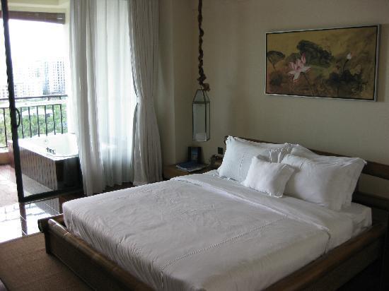 Ocean Sonic Resort: 卧室